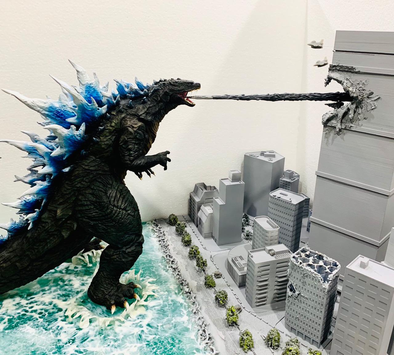 3D Printer Godzilla